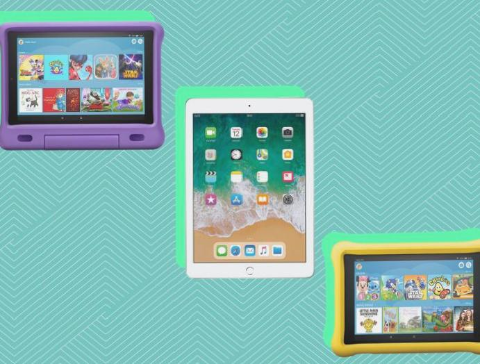 10 kids' tablets playing games