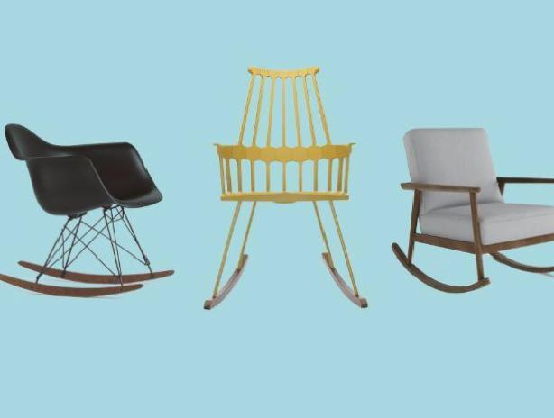10 rocking chairs are