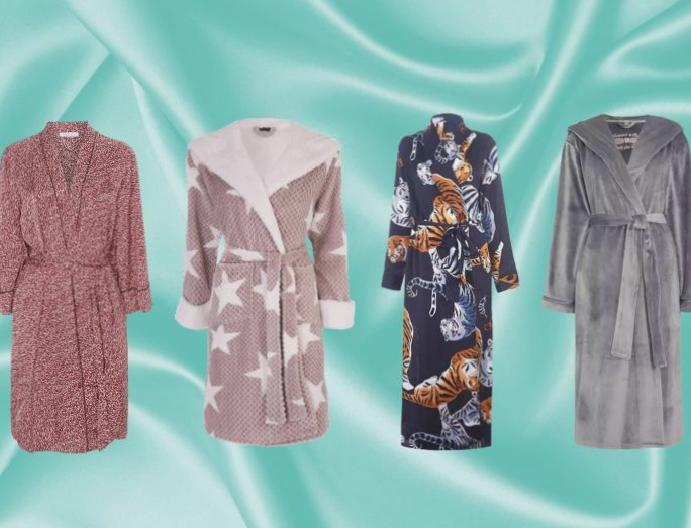 10 women's dressing gowns robes won't