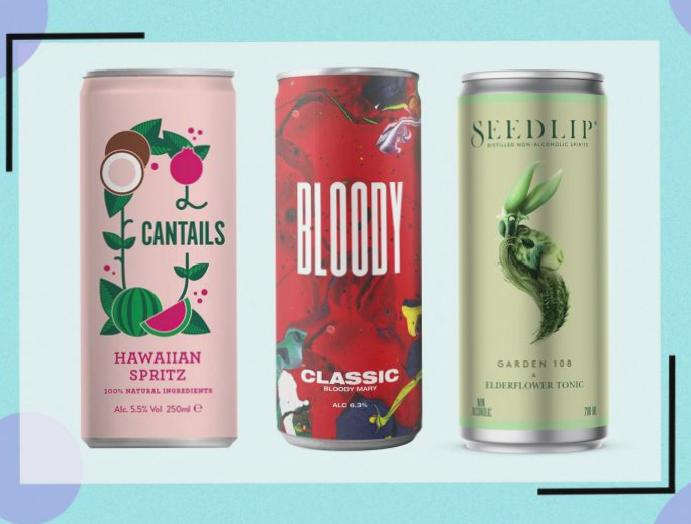 11 pre-mixed canned cocktails lockdown