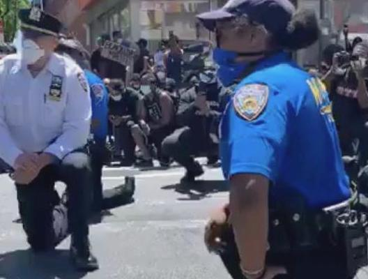 A crooked cops America George Floyd protester: We