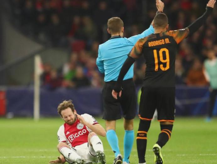 Ajax Manchester United Daley Blind diagnosed