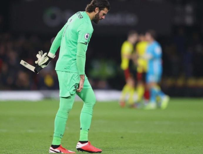 Alisson: Liverpool goalkeeper ruled Champions League Atletico Madrid