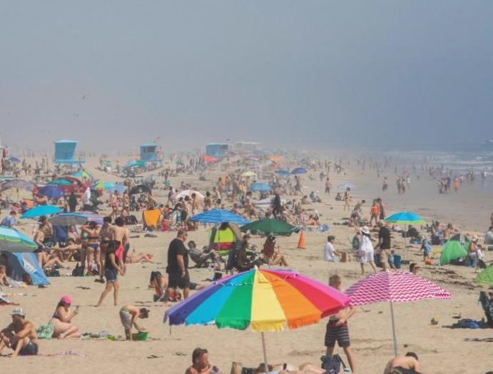 All California beaches crowding, memo says