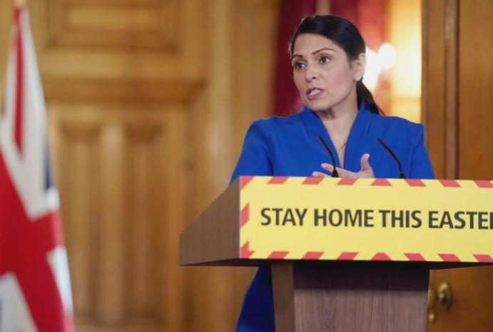 Anger Priti Patel says NHS fees paid stay, weeks announcing 'review'