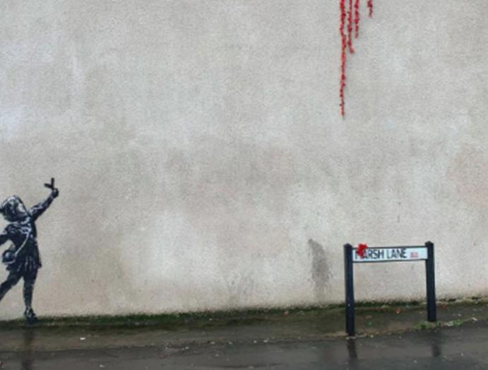 Banksy: Possible mural discovered Bristol