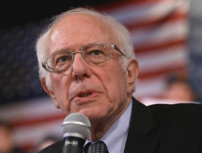 Bernie Sanders raises $25m January Democrat campaigns signs