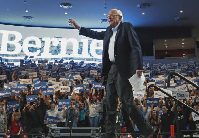 Bernie Sanders says is 'stronger Trump' criticises Joe Biden