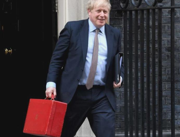 Boris Johnson has seized Treasury
