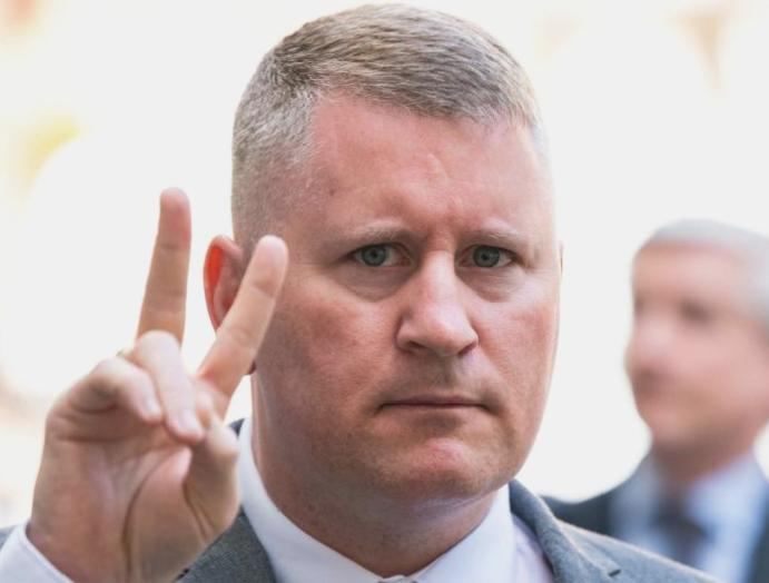 Britain First Paul Golding convicted offence