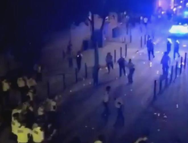 Brixton party: 22 officers injured erupts