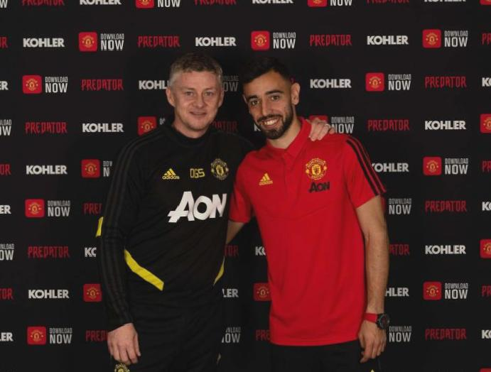 Bruno Fernandes reveals fell Manchester United