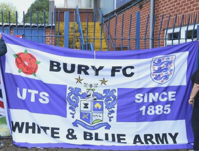 Bury AFC North West Counties Football League