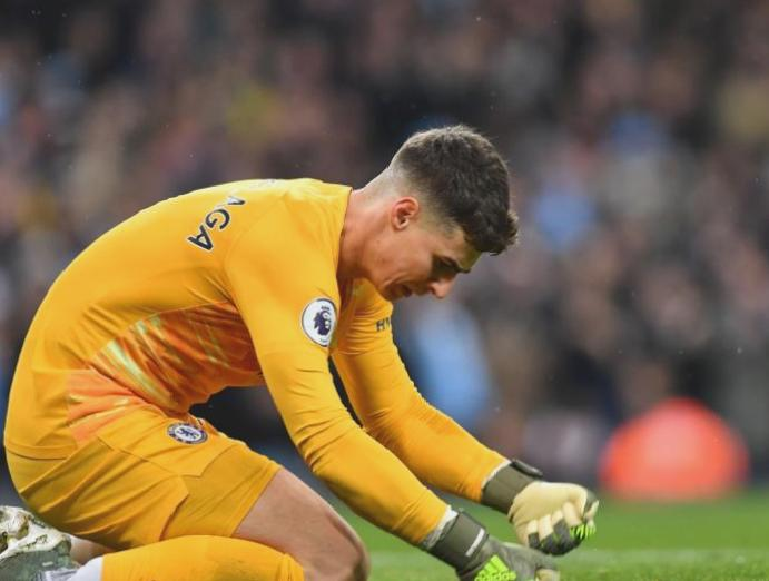 Chelsea Frank Lampard says was 'right time' goalkeeper Kepa Arrizabalaga