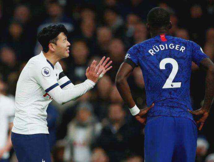 Chelsea arrested racially abusing Tottenham's Son Heung-min