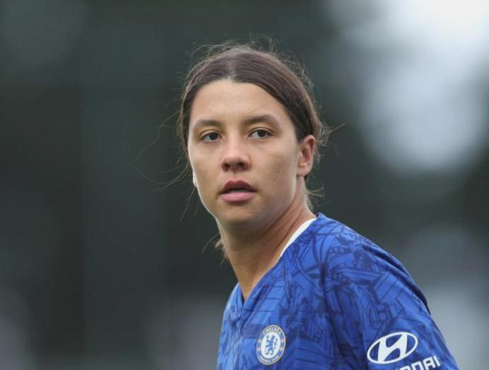Chelsea women Reading: 'Nervous' Sam Kerr enjoys winning Blues Reading