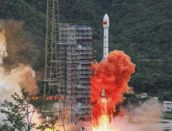 China launches American GPS