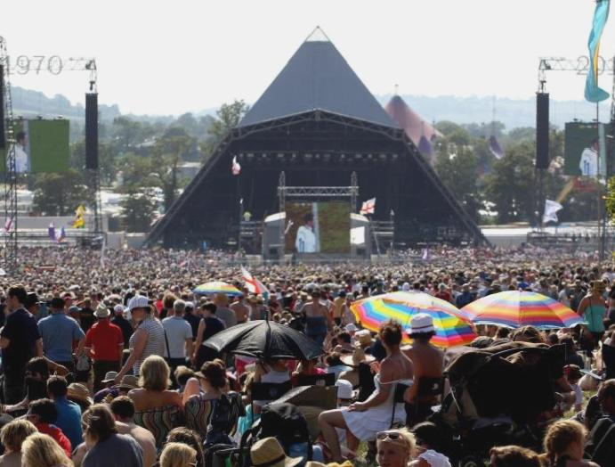Coronavirus: Glastonbury donates gloves, masks sanitiser services
