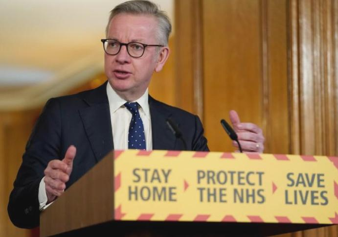 Coronavirus lockdown restrictions lifted Britain's islands country, Michael Gove says