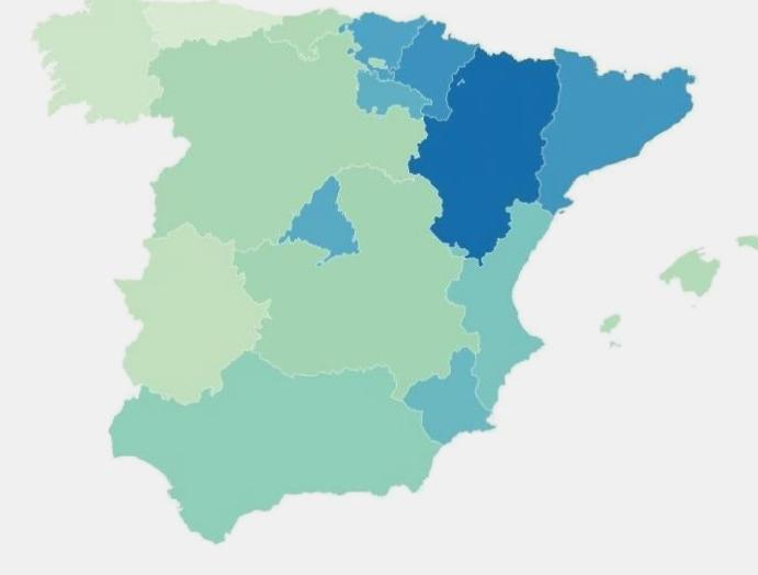 Coronavirus tracked: How rates Spain UK compare?