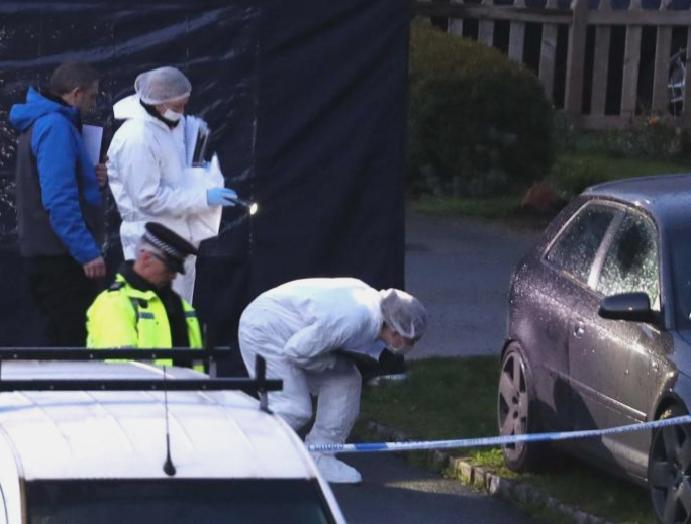 Crawley Down murders: Injured arrested deaths 'very unstable' condition,