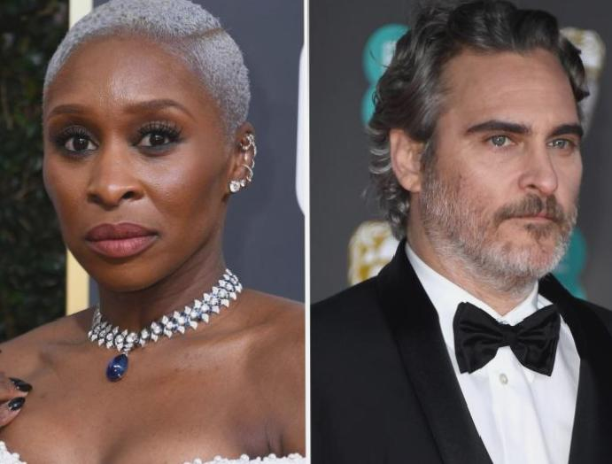 Cynthia Erivo says 'it was Joaquin Phoenix' 'systemic racism'