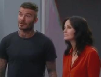 David Beckham makes awkward Modern Family cameo Courteney Cox