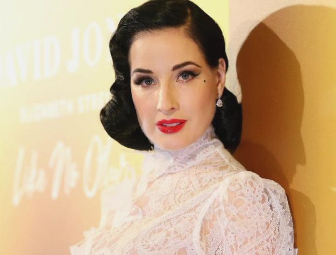 Dita Von Teese says was 'preyed upon'