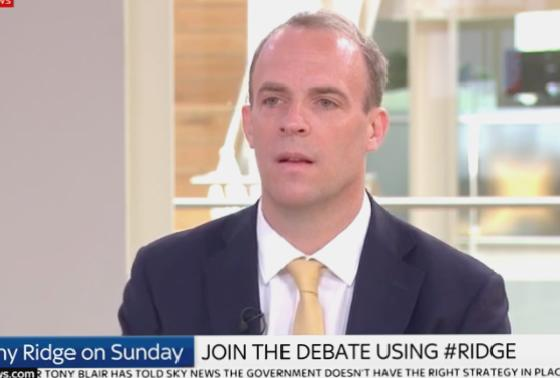 Dominic Raab warns 'summer uncertainty' Spain pulled hours'