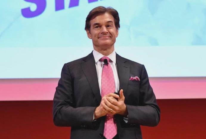 Dr Oz says 'cancelled' 'most Americans are addicted food'