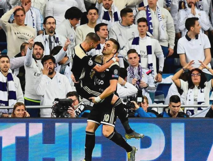 Dusan Tadic assist: Ajax midfielder stuns Real Madrid visitors Champions League
