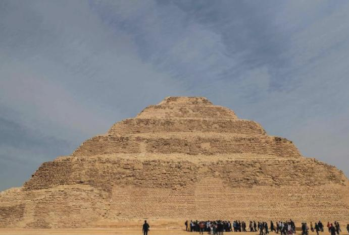 Egypt reopens oldest pyramid £5m restoration