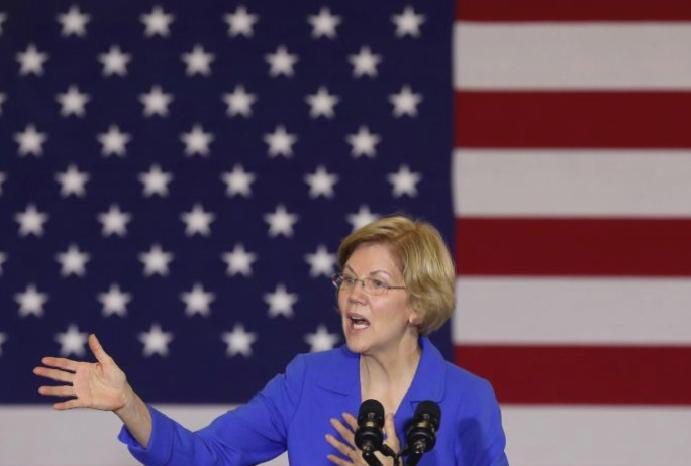Elizabeth Warren accused hiding getting