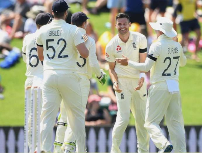 England's James Anderson 'excited' Test cricket