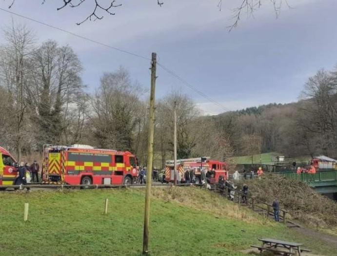 Etherow Country Park: Search launched pram child's belongings riverbank