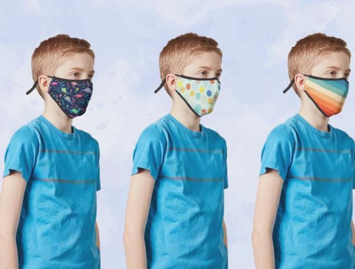 Face masks kids: Where coverings children