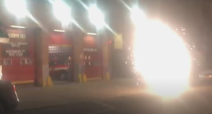 Firefighters filmed fireworks New York City, pyrotechnic complaints surged 8000 cent