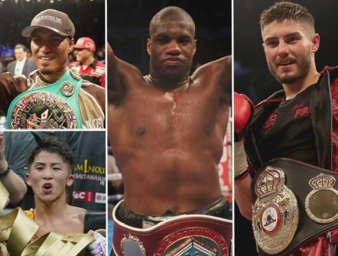 Five boxing bouts Tyson Fury's Deontay Wilder