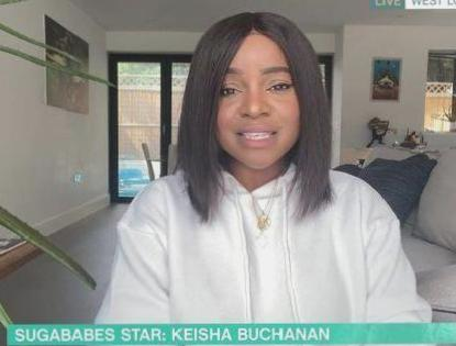 Former Sugababes Keisha Buchanan says was made 'scapegoat' racist