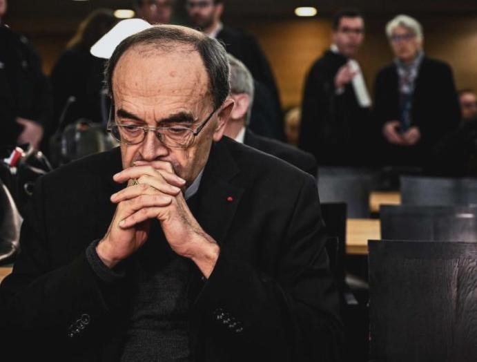 French cardinal accused covering acquitted appeals