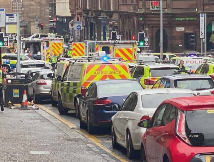 Glasgow stabbings – live: Asylum terror, injured