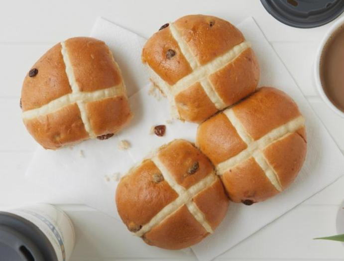 Greggs launches vegan buns Easter