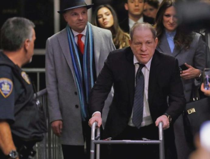 Harvey Weinstein trial: Sopranos says 'punched kicked' overpowered 'disgusting'