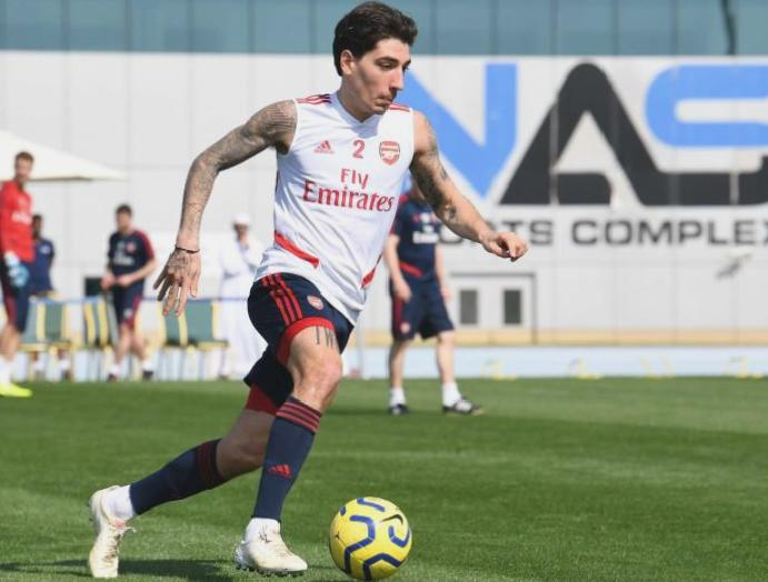 Hector Bellerin insists Arsenal's warm-weather Dubai isn't 'holiday'