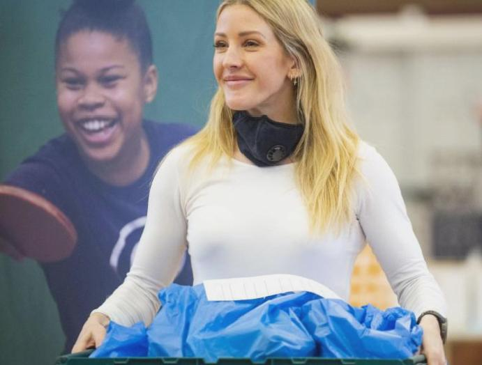 Help Hungry: Campaign restores humanity, says Ellie Goulding
