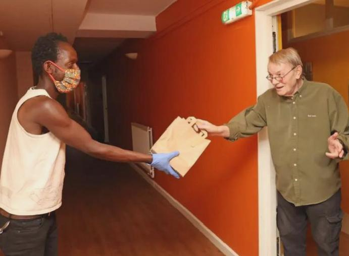 Help Hungry: 'Someone delivering makes isolated'