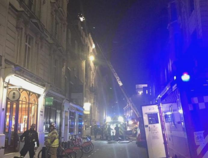 Holborn fire: Residents evacuated 150 firefighters blaze London