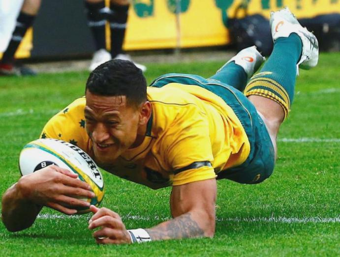 Israel Folau joins Super League Catalans Dragons commits expressing views