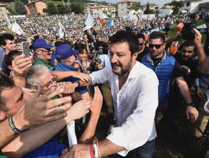 Italy's 'Sardines' protesters are Salvini nationalism - UK