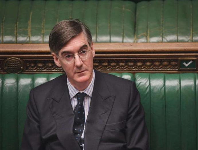 Jacob Rees-Mogg suggests 'the weather' is UK's sky-high coronavirus
